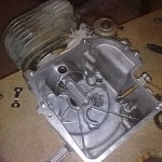 Installing piston